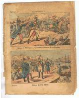 JM16.04 / PROTEGE- CAHIERS -  CARNOT A WATIGNIES REPOUSSANT L INVASION DE LA FLANDRE ET RETOUR DE L ILE D ELBE - Book Covers