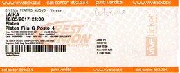 B 1782 - Biglietto D'ingresso, Celestini, Cinema Nuovo Varese - Biglietti D'ingresso