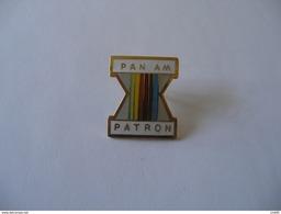 PAN AM PATRON GAMES JEUX PANAMERICAINS - Badges