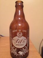 """ALGERIE-BIERE DE LUXE """"PILS SPECIALE""""33 CL-BGA- ( BOISSON DE L'EPOQUE COLONIALE) - Beer"""