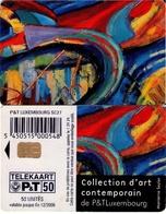 TARJETA TELEFONICA DE LUXEMBURGO. SC27 (044) - Luxembourg