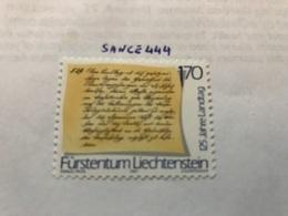 Liechtenstein 275th Anniversary Of Liechtenstein 1.70f 1987 Mnh - Liechtenstein