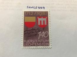 Liechtenstein 275th Anniversary Of Liechtenstein 1.40f 1987 Mnh - Liechtenstein