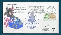 ESPACE - ARIANE Vol Du 1995/09 V78 - Conseil De L'Europe - 1 Document - Europe
