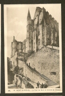 CP- La Tour Du Nord Et L'Entrée De L'Abbaye - Mont St-Michel (50) - Le Mont Saint Michel