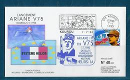 ESPACE - ARIANE Vol Du 1995/07 V75 - Conseil De L'Europe - 1 Document - Europe