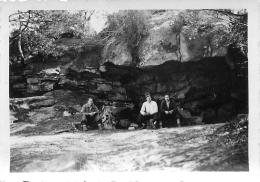 FORET DE FONTAINEBLEAU PAQUES 1938   PHOTO ORIGINALE FORMAT  9 X 6 CM - Lieux