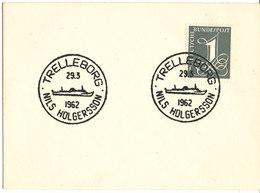 Germany Ship Cover Niels Holgersson Trelleborg 29-3-1962 - [7] Federal Republic