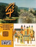 TARJETA TELEFONICA DE LUXEMBURGO. TS18 TIRADA 30000 (038) - Luxembourg