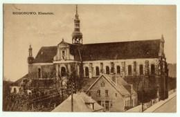 Koronowo Klasztor, Alte Ansichtskarte 1929 - Polen