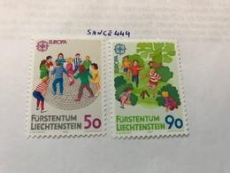 Liechtenstein Europa Children Games 1988 Mnh - Liechtenstein