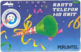 INDONESIA : 015 (91) SENYUM...140 U Clarinet Brown Rev. USED - Indonesia