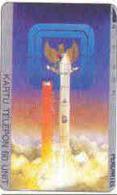 INDONESIA : 019 280u Launching Of Palapa Satellite USED - Indonesia