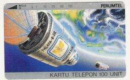 INDONESIA : 023 100u PALAPA-B-2R USED - Indonésie