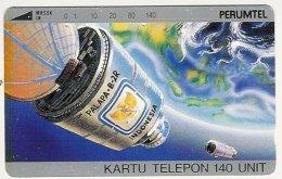 INDONESIA : 024 140u PALAPA-B-2R USED - Indonésie