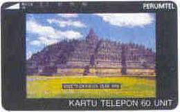 INDONESIA : 048 100u BOROBUDUR USED - Indonésie