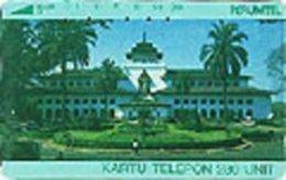 INDONESIA : 055 280u GOVERNMENT HOUSE-BANDUNG USED - Indonésie