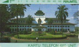 INDONESIA : 057 680u GOVERNMENT HOUSE-BANDUNG USED - Indonésie