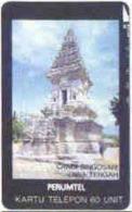 INDONESIA : 095 100u CANDI SINGOSARI JAWA TENGAH Temple USED - Indonésie