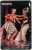 INDONESIA : 103 280u TARI JAWA Dancers USED - Indonésie