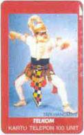 INDONESIA : 121 100u TARI HANOMAN Dance USED - Indonésie