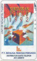 INDONESIA : P049 60u (Bank) P.T. BENUSA TRIKOM PERSADA-1 USED - Indonésie