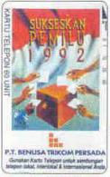 INDONESIA : P053 60u (Bank) P.T. BENUSA TRIKOM PERSADA-5 USED - Indonésie