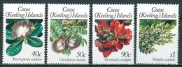 1989 Isole Cocos Fiori Flowers Fleurs MNH -Ye100 - Isole Cocos (Keeling)