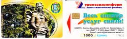 Phonecard   Russia. Berezovo 1000 Units - Russia