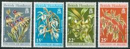 1971 British Honduras Fiori Flowers Blumen Fleurs Set MNH** Ye96 - British Honduras (...-1970)