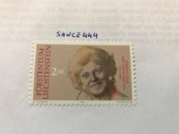 Liechtenstein Memorial Issue 2.00f  Mnh  1990 - Liechtenstein