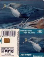 TARJETA TELEFONICA DE LUXEMBURGO. TS30 (058) FAUNA - Luxembourg