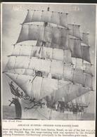 L) 1945 SWEDEN, ABRAHAM RYDBERG, WAR, BOAT, SHIP, FLAG, POSTCARD - Other