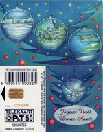 TARJETA TELEFONICA DE LUXEMBURGO. TS36 (027) NAVIDAD - Luxembourg