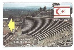 NORTH CYPRUS - Alcatel, K.K.T.C. Telecom, Salamis Theatre, 100 Units, 1996, Used - Cyprus