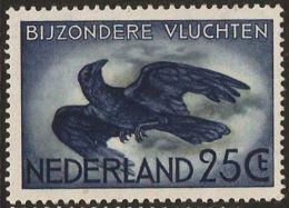 Netherlands 1953 2 Crow 25 C Airmail 1 Value MNH Corbeau, Krän, Corvus - Vögel