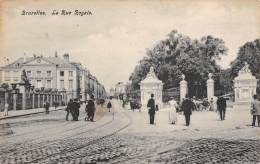BRUXELLES - La Rue Royale - Lanen, Boulevards