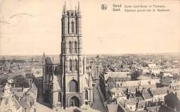 GENT - Algemeen Gezicht Met St. Baafskerk - Gent