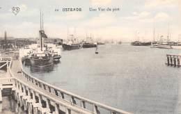 OSTENDE - Une Vue Du Port - Oostende