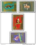 Taiwan 1971 Animals Stamps Monkey Squirrel Deer Bat Pangolin Fauna - Unused Stamps