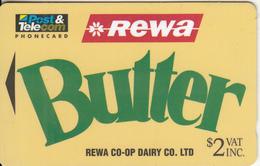 FIJI ISL.(GPT) - Rewa Butter, CN : 08FJA, Tirage 9968, Used - Fiji