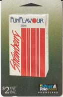 FIJI ISL.(GPT) - Rewa Strawberry Fun Flavour, CN : 08FFA, Tirage 10000, Used - Fiji