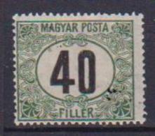 UNGHERIA  1919-20 SEGNATASSE YVERT. 57 MLH VF - Ungheria