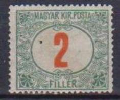 UNGHERIA  1915-20 SEGNATASSE YVERT. 35 MLH VF - Ungheria