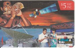 FIJI ISL.(GPT) - Satellite, Phone Shop, CN : 13FIC, Tirage 61850, Used - Fiji