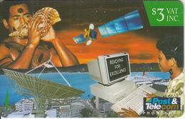 FIJI ISL.(GPT) - Satellite, Computer Terminal, CN : 13FJB, Used - Fiji