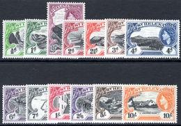 St Helena 1953 Set Unmounted Mint. - Saint Helena Island