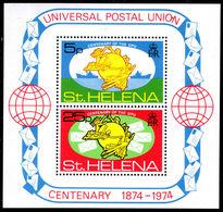 St Helena 1974 UPU Souvenir Sheet Unmounted Mint. - Saint Helena Island