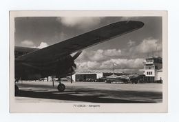 DC-4 KLM DC-3 DAKOTA AIRPLANE AIRCRAFT 1940s LISBON AIRPORT PORTUGAL AIRPLANES - 1946-....: Moderne