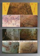 2 Pc's 1960years ART PRE HISTORY SPAIN CUEVA PILETA BENAOJÁN MALAGA - Huelva